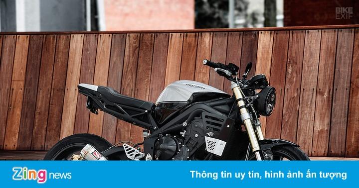 Hắc mã Triumph Street Triple từ cơ sở Redeemed Cycles