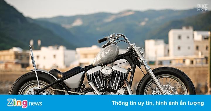 Harley Sportster độ phong cách nữ tính đầu tiên ở Đài Loan
