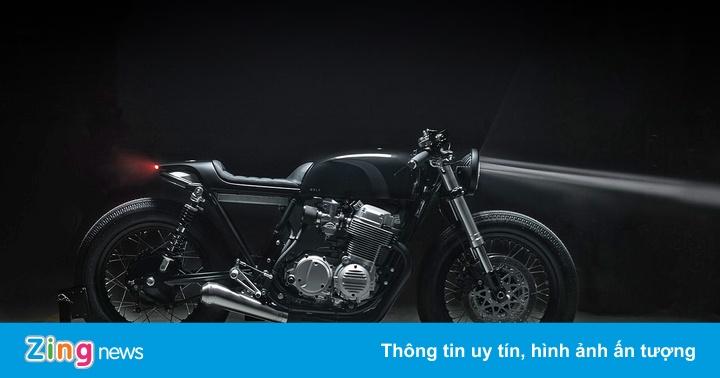 Sói đen Honda CB750 từ vùng Bắc Âu