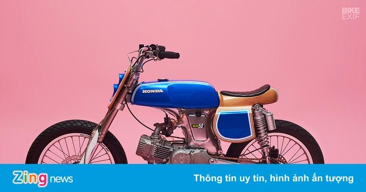 Chi tiết ngựa hoang tí hon Honda SS50 từ nước Pháp