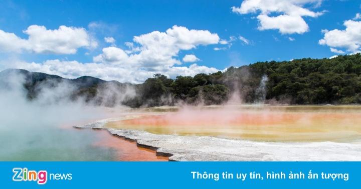 Vẻ đẹp của thành phố nặc mùi trứng thối ở New Zealand