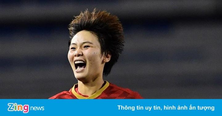 Hải Yến được thưởng 100 triệu nhờ bàn thắng mang về HCV SEA Games