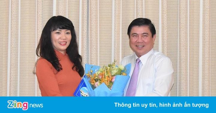 Sở Tài chính TP.HCM có nữ giám đốc mới