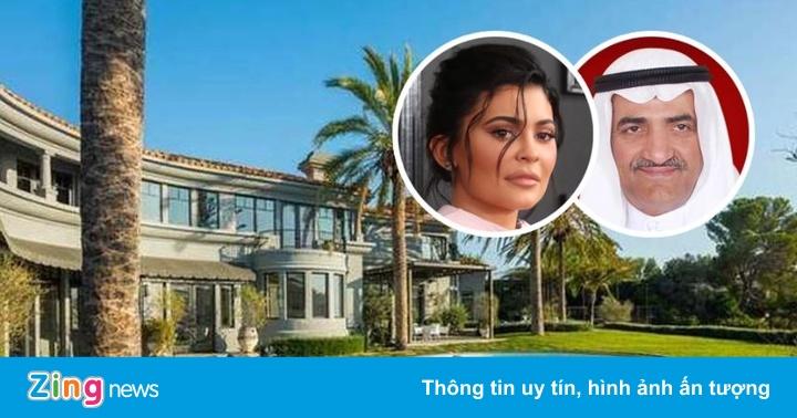 Tiểu vương UAE mua biệt thự Kylie Jenner từng thuê ở