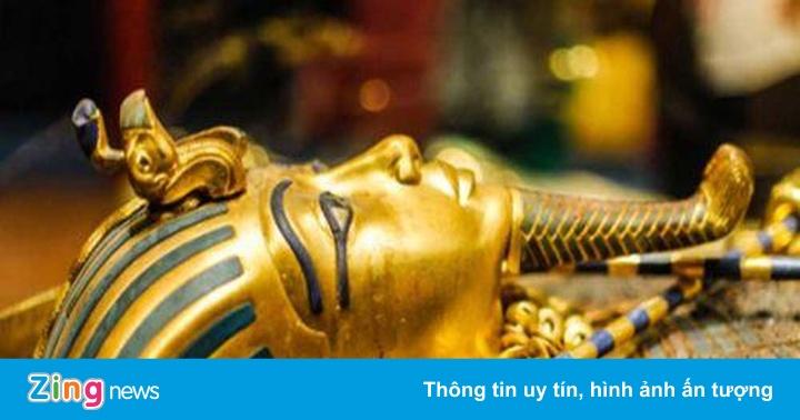 Kho báu khổng lồ trong lăng mộ của vua Tut