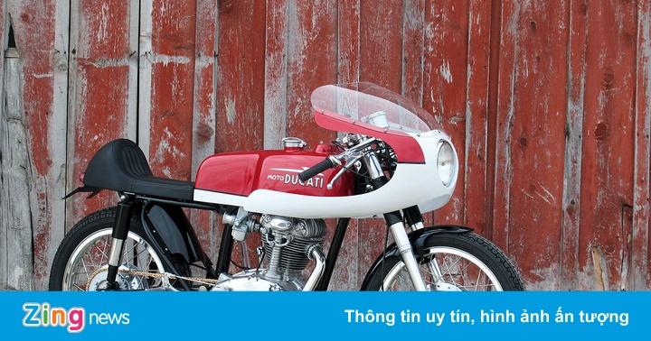 Ducati 250 hàng hiếm độ phong cách cafe racer