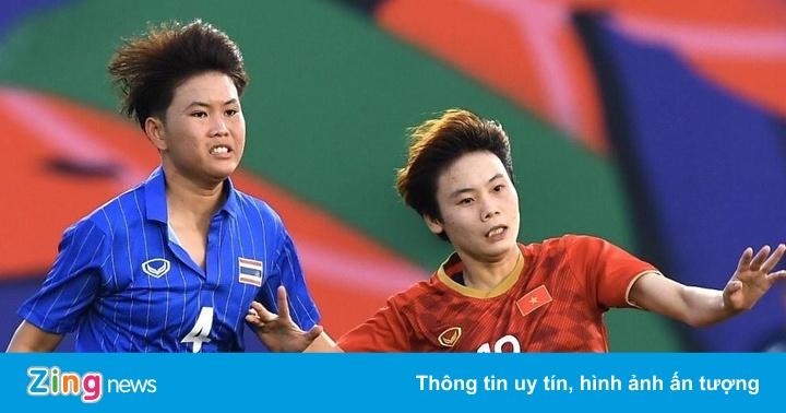 HLV tuyển nữ Thái Lan tuyên bố hạ Việt Nam để lấy HCV
