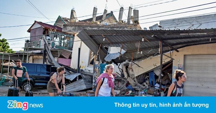 Chưa có người Việt bị ảnh hưởng bởi động đất Indonesia