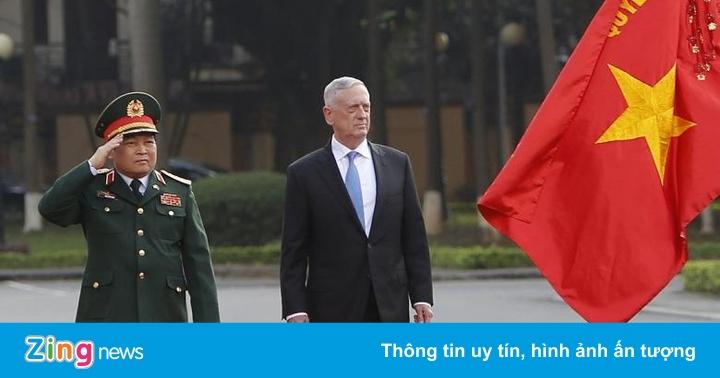 Bộ trưởng Mattis thăm VN, thúc đẩy hợp tác quốc phòng Việt – Mỹ