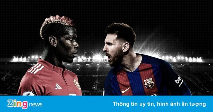 MU chưa từng thua Barca trên sân nhà ở cúp châu Âu