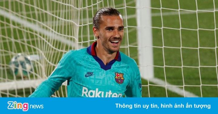 Villarreal 1-3 Barca: Messi giúp Griezmann giải cơn khát bàn thắng