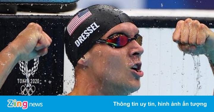 Dressel giành HCV thứ 5 tại Olympic Tokyo