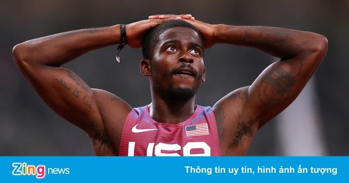 Kỳ Olympic tệ hại với điền kinh Mỹ