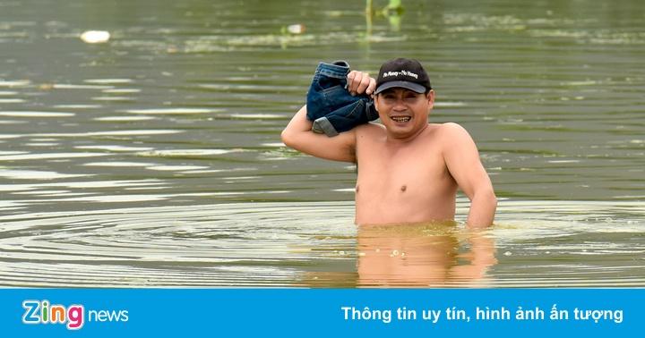 Vỡ đập nước ở Nghệ An, nhiều nơi bị ngập sâu, chia cắt