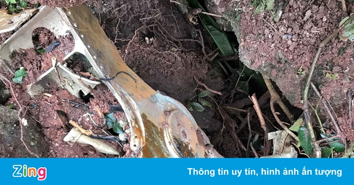 Tìm thấy hộp đen máy bay Su-22U rơi tại Nghệ An