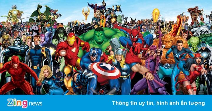 10 siêu anh hùng mạnh nhất trong truyện tranh của Marvel - Sách hay -  ZING.VN
