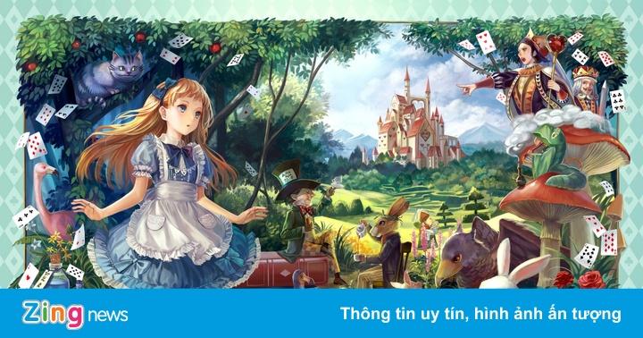 'Alice ở xứ sở thần tiên' kỷ niệm sinh nhật 150 tuổi - Tin tức xuất bản -  ZING.VN