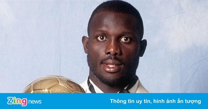 """""""Quả bóng vàng 1995"""" đắc cử Tổng thống Liberia"""