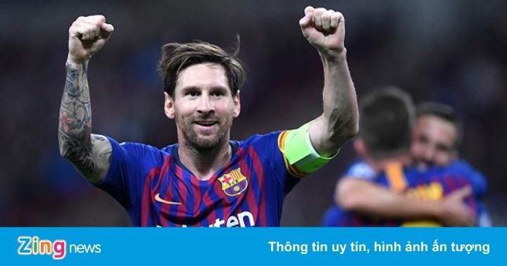 Bảng xếp hạng 5 giải quốc gia hàng đầu châu Âu: Barca thắng nhờ Messi