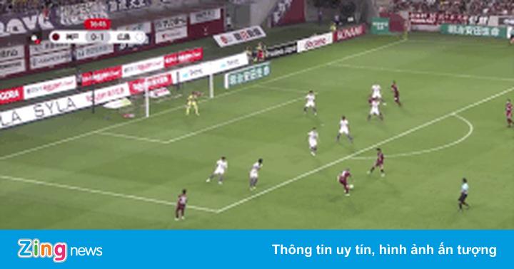 Iniesta nã đại bác tung lưới đội đầu bảng J.League