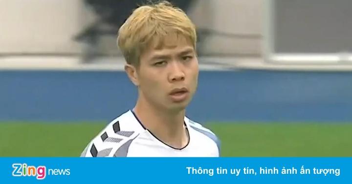 Công Phượng chơi 20 phút trong trận thua 1-2 của Incheon