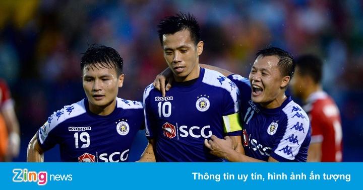 CLB Bình Dương 0-1 CLB Hà Nội: Văn Quyết mở tỷ số