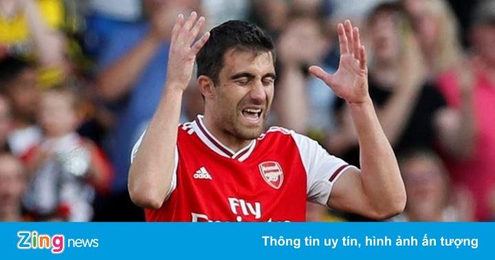 Watford 2-2 Arsenal: David Luiz lại sai lầm