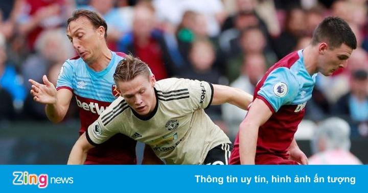 West Ham 1-0 Man Utd: Maguire bị qua mặt