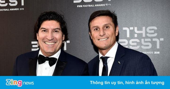 Huyền thoại tề tựu ở lễ trao giải FIFA The Best