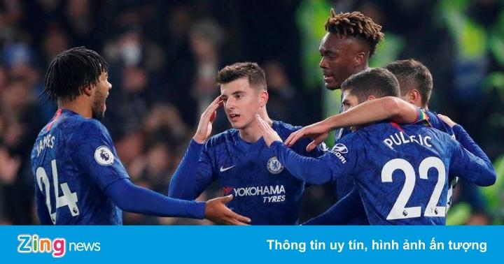 Bộ đôi sao trẻ tỏa sáng giúp Chelsea hạ Aston Villa
