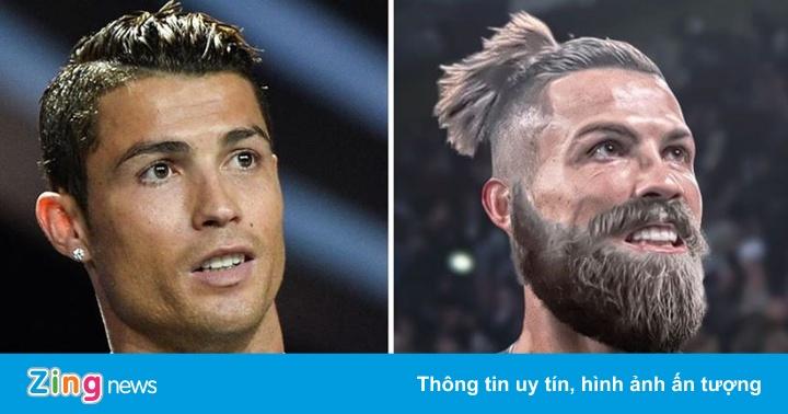 Vẻ ngoài của Ronaldo, Mbappe với bộ râu rậm - quất cảnh