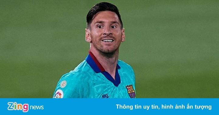 Barca 0-0 Espanyol: Messi gây thất vọng trước CLB bét bảng