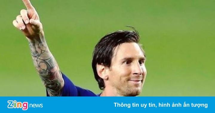 Messi lập 2 kỷ lục trong ngày La Liga hạ màn