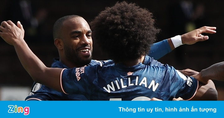 Fulham 0-1 Arsenal: Lacazette mở tỷ số