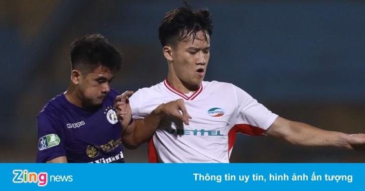 CLB Viettel 0-0 CLB Hà Nội: Hoàng Đức sút xa nguy hiểm