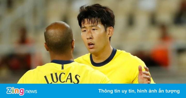 Son Heung-min tỏa sáng ở Europa League