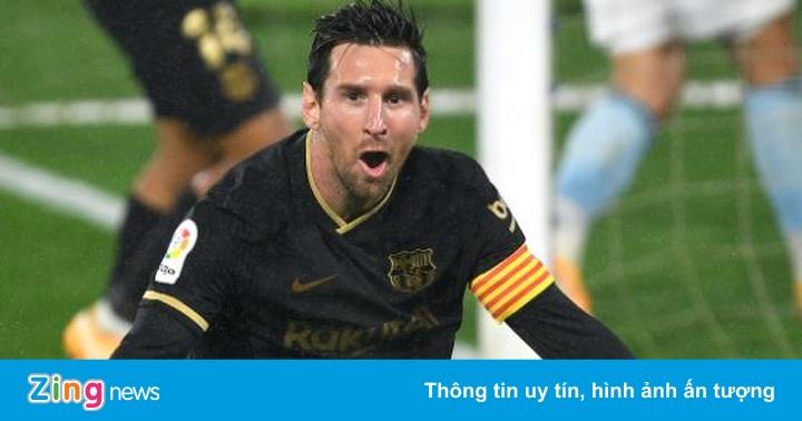 Messi chơi nỗ lực trong trận thắng 3-0 của Barca