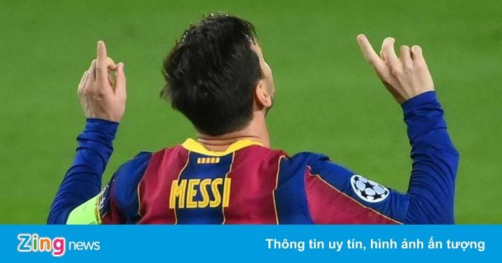 Messi lập kỷ lục trong trận thắng 5-1 của Barca