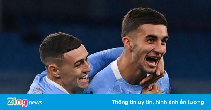 Ferran Torres lập công giúp Man City giành 3 điểm