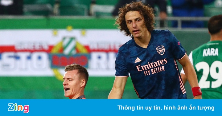 Thủ môn Arsenal mắc sai lầm ở trận ra quân tại Europa League