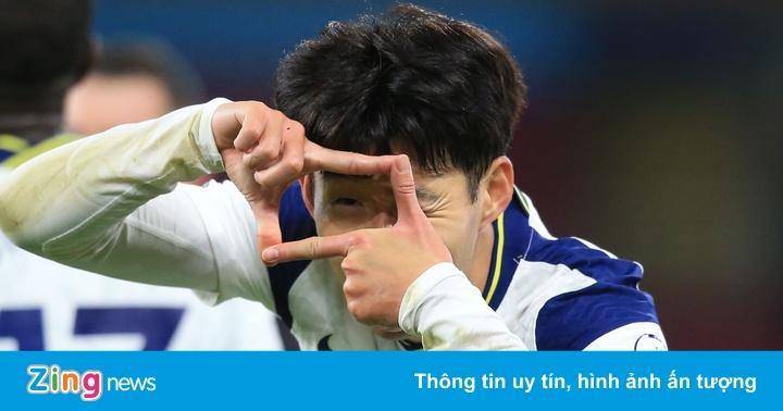 Son Heung-min tỏa sáng giúp Tottenham giành 3 điểm