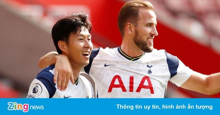 Son Heung-min giúp Kane lập kỷ lục tại Premier League