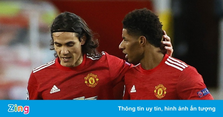 West Ham vs Man Utd: Cavani đá chính