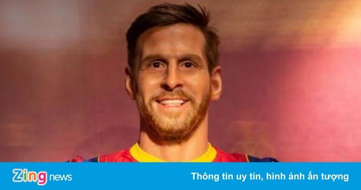Tượng sáp của Messi có diện mạo gây tranh cãi