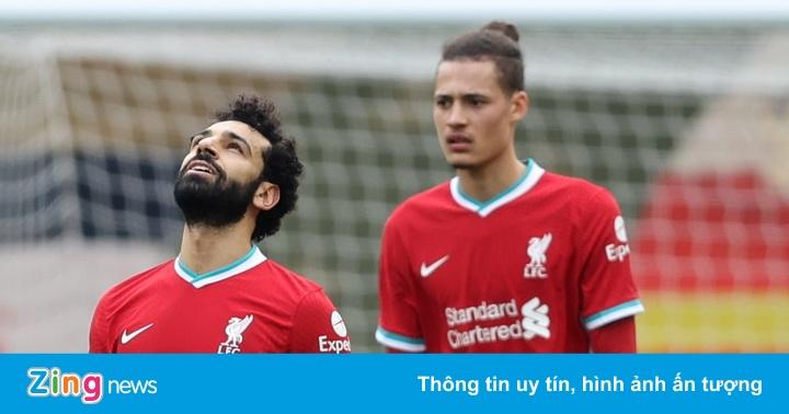 Liverpool thua trận thứ 6 liên tiếp trên sân nhà