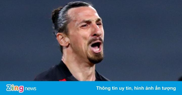 Ibrahimovic không thể dự EURO 2020