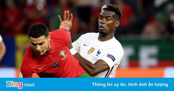 Bồ Đào Nha 0-0 Pháp: Ronaldo nỗ lực đánh đầu