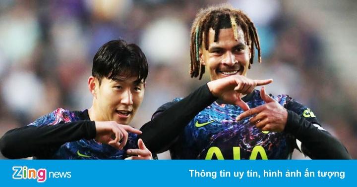 Son tỏa sáng giúp Tottenham thắng 3-1 - x��� s��� ki���u m���