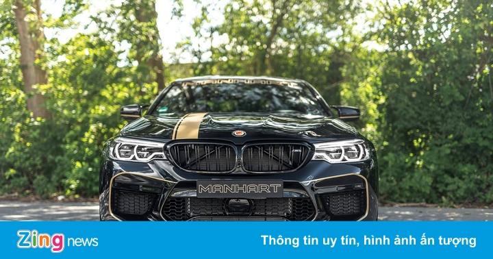 BMW M5 dữ dằn hơn qua bàn tay hãng độ Manhart