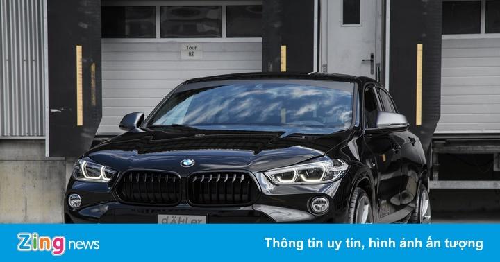 BMW X2 lột xác với bánh lớn của xưởng độ Dahler